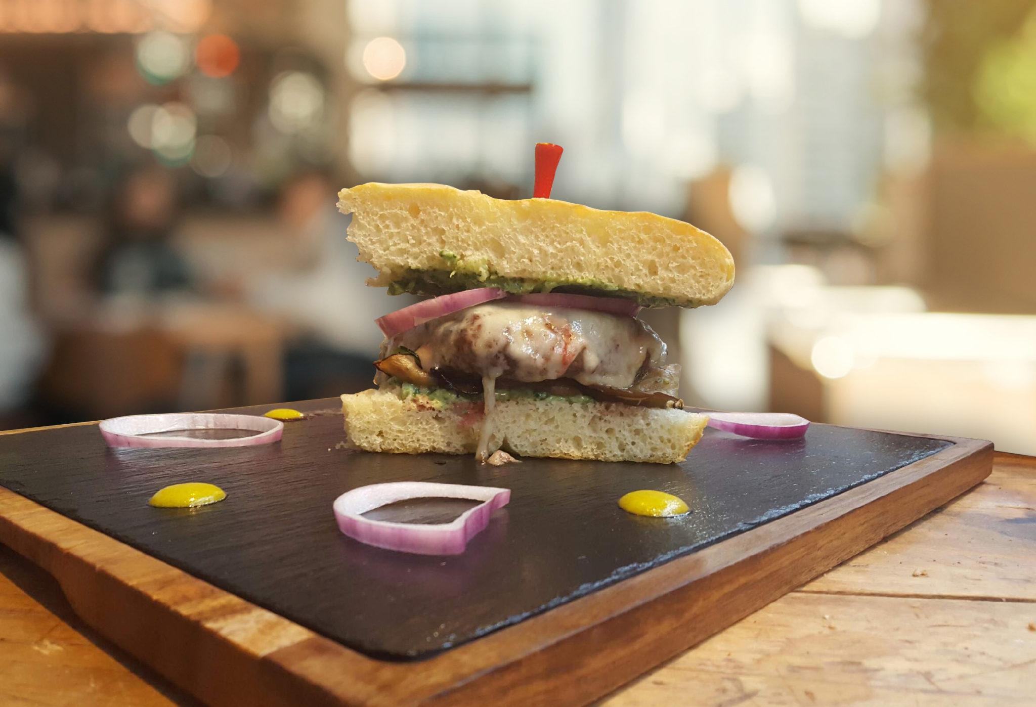 Focaccia burger la truffe come la maison - Come a la maison ...