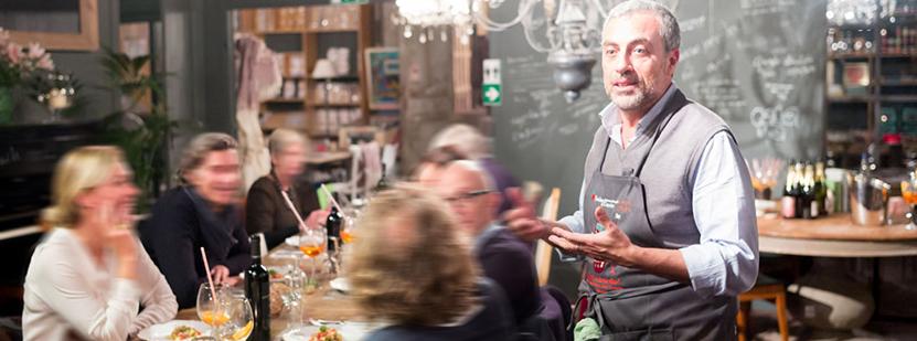 22 décembre 2015 : La Table de Gianfranco – «BOSS' HAPPY BIRTHDAY» –