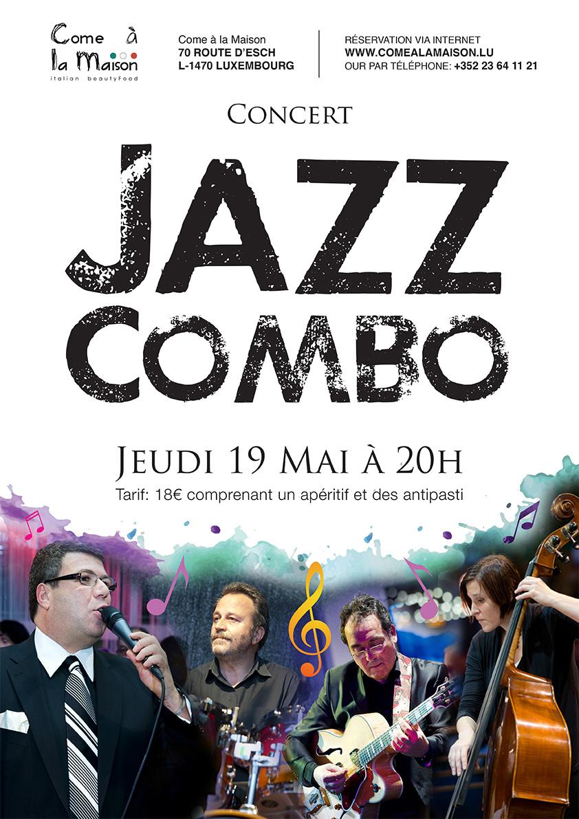 19 Mai 2016 : Concert Jazz Combo