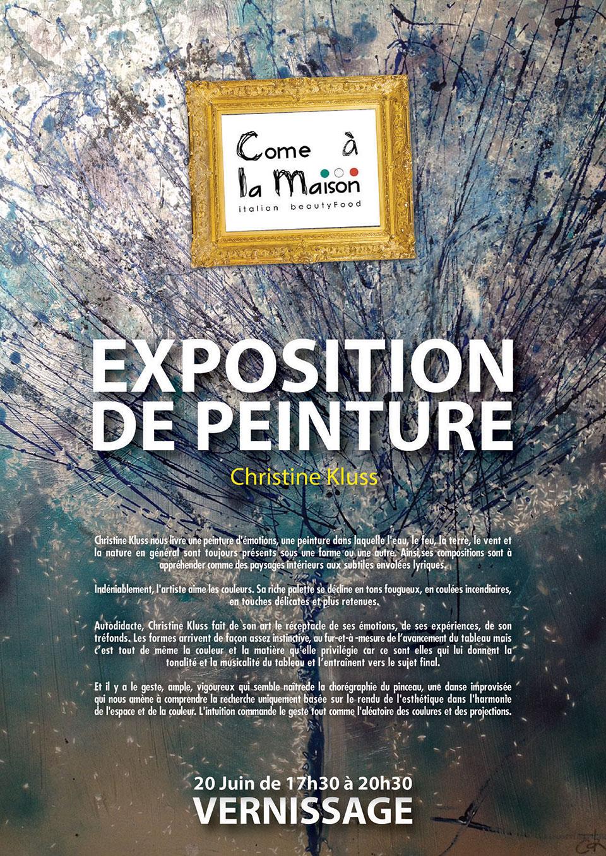 Exposition de Peinture (Christine Kluss)