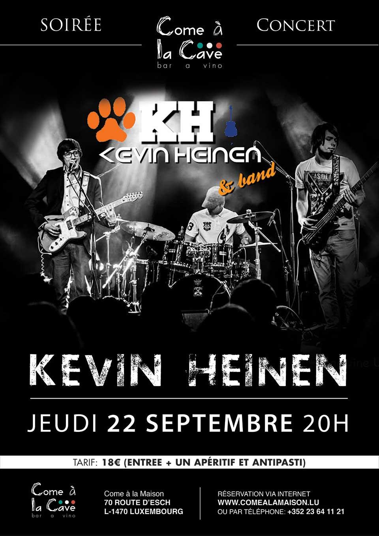Kevin Heinen — Concert Soirée