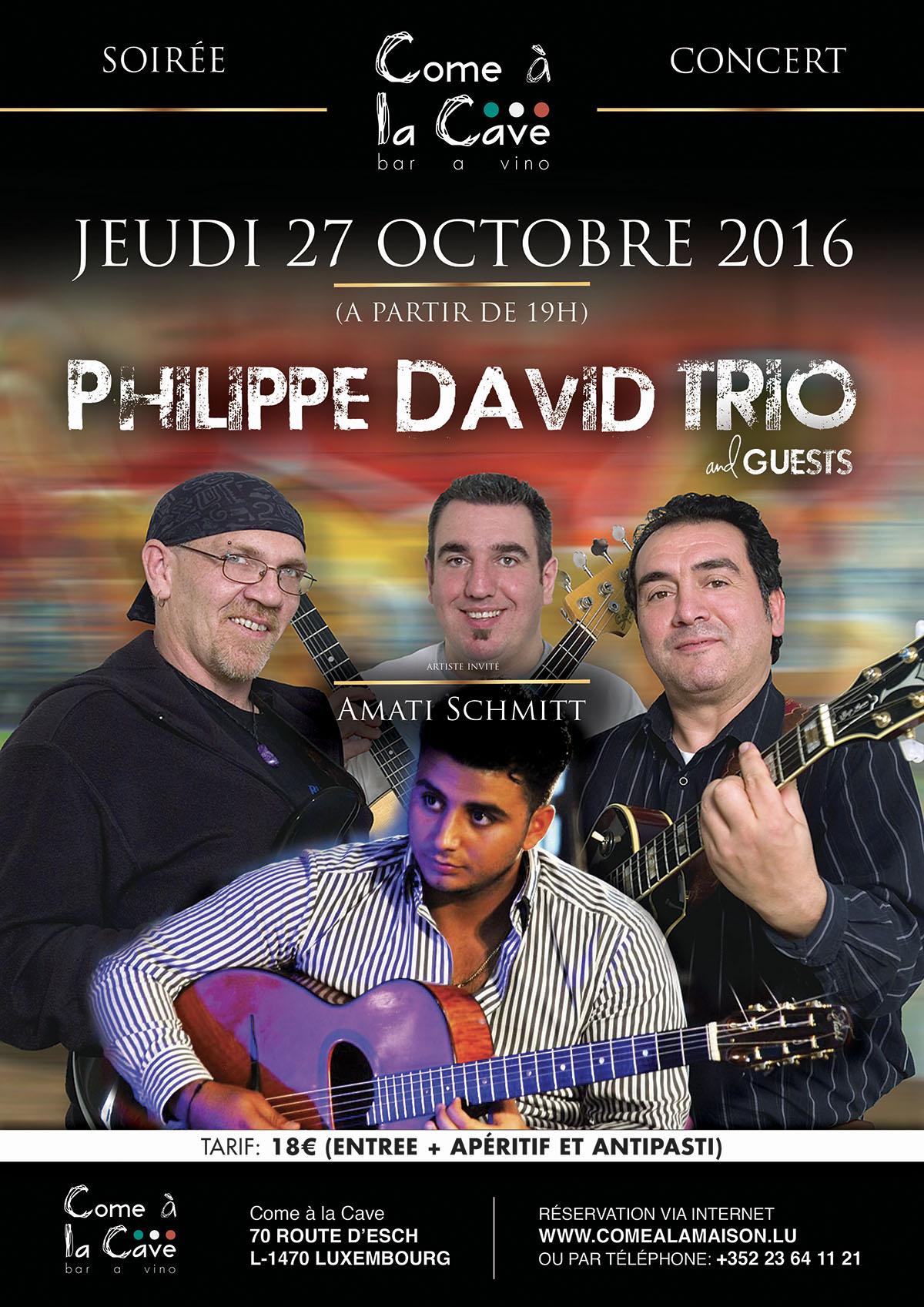 Phillipe David Trio & Amati Schmitt