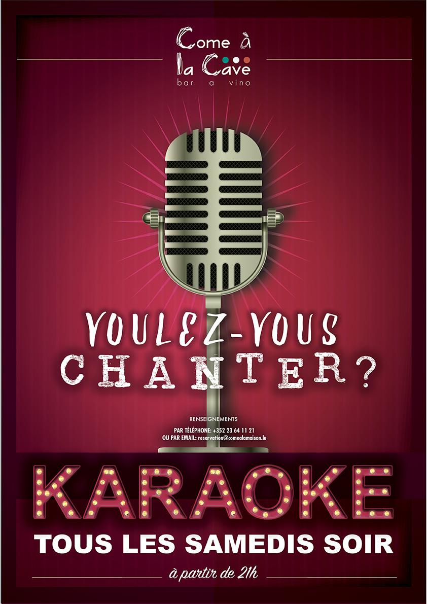 Voulez-vous chanter?
