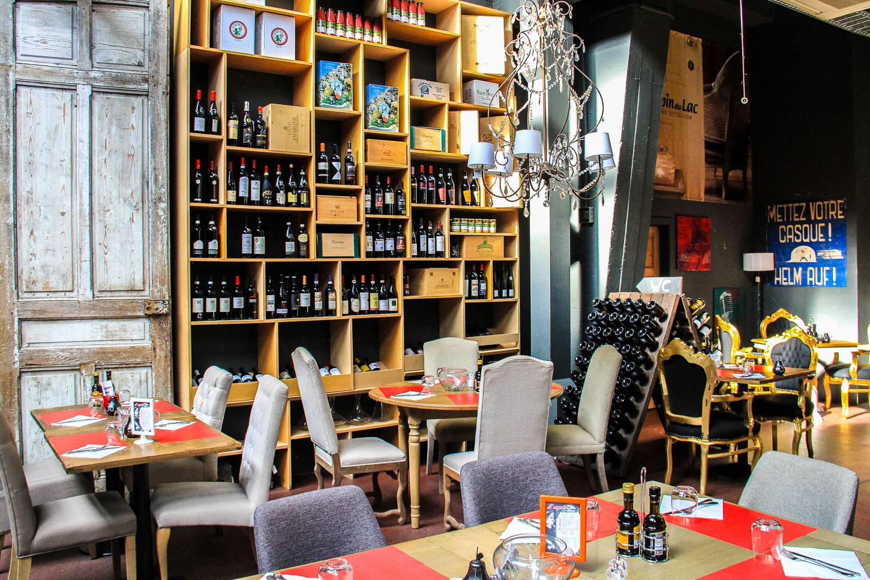 Benvenuto au restaurant italien come la maison luxembourg for Maison du luxembourg restaurant