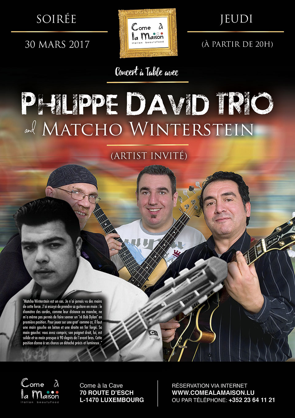 Philippe David Trio & Matcho Winterstein