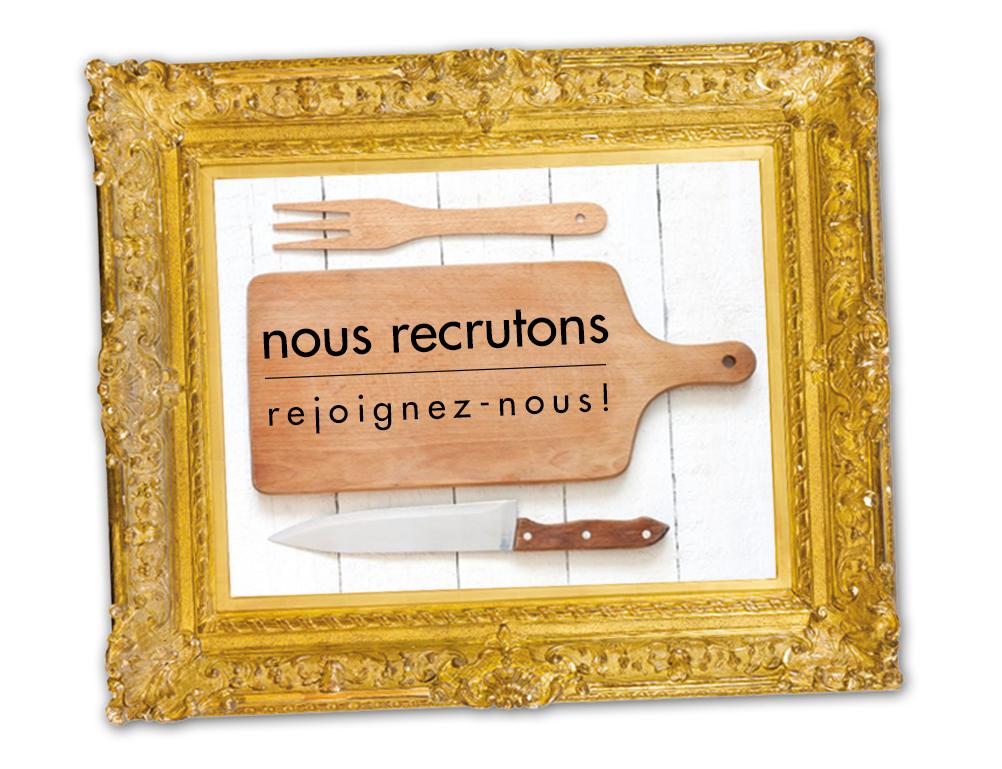 NOUS RECRUTONS