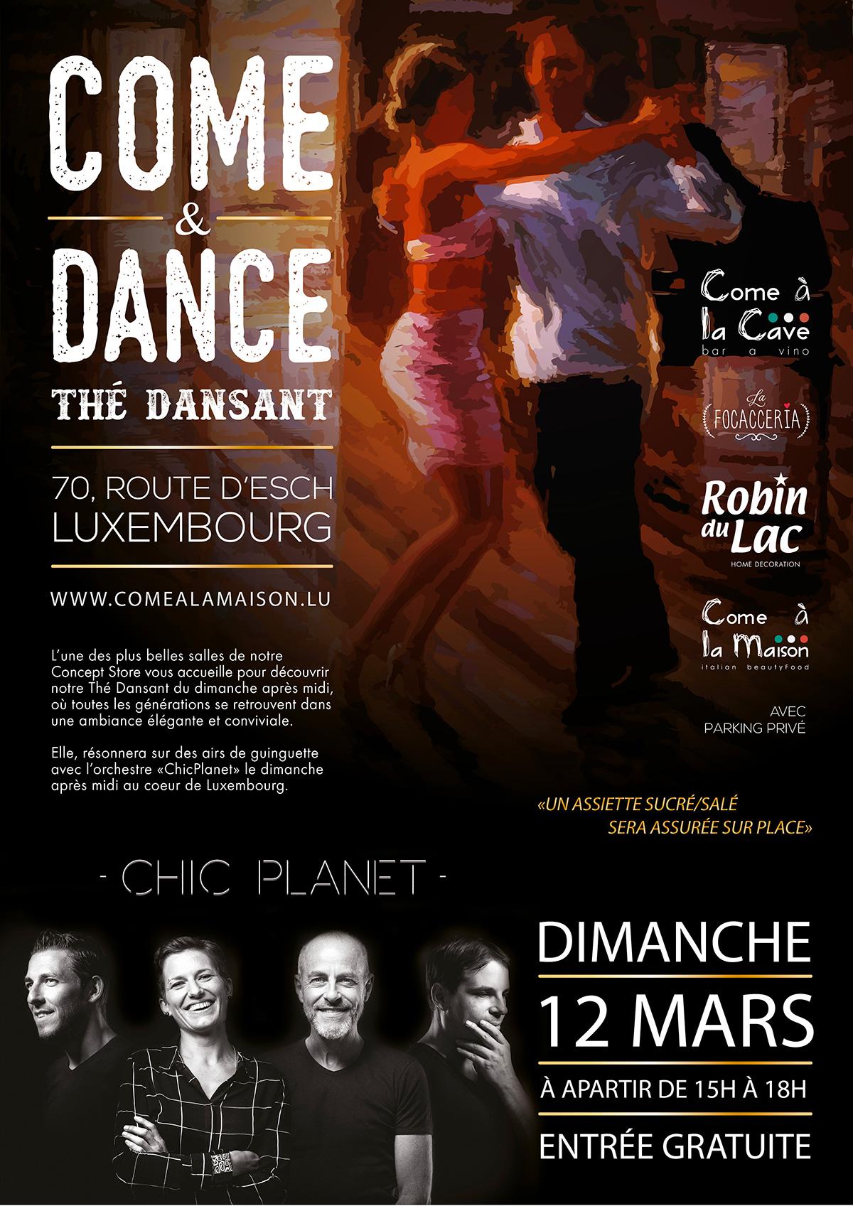 COME & DANCE