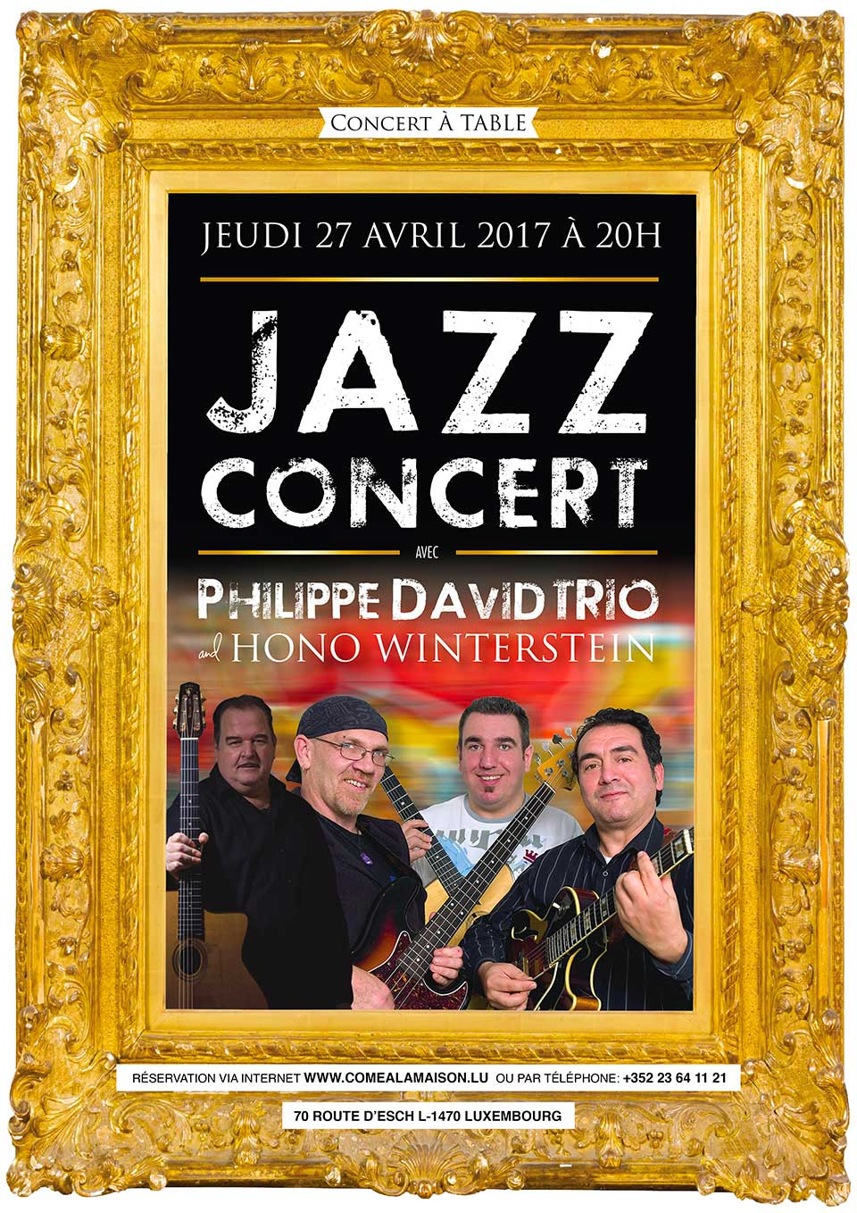 Philippe David Trio & Hono Winterstein