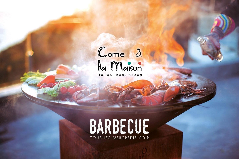 Barbecue «Come à la Maison» à volonté