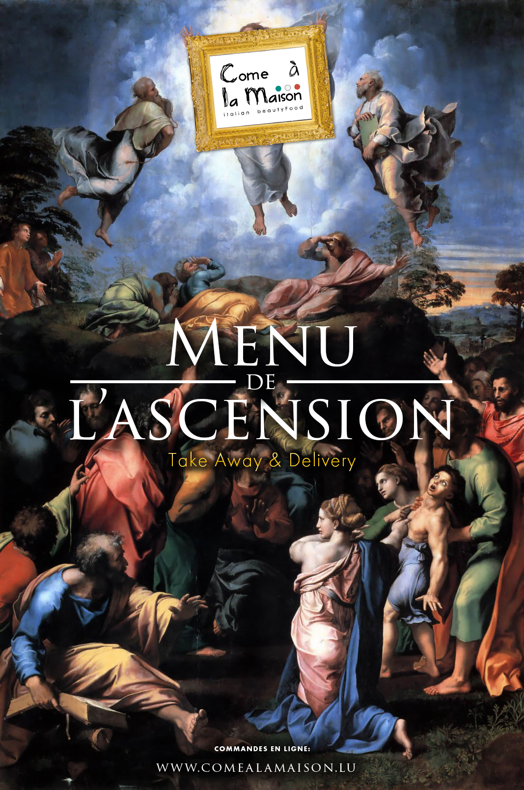 MENU DE L'ASCENTION